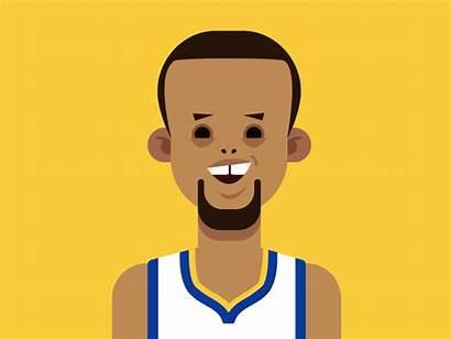 Curry Steph Animation Basketball Nba Dribbble Motion