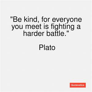 Plato Quotes On Kindness. QuotesGram
