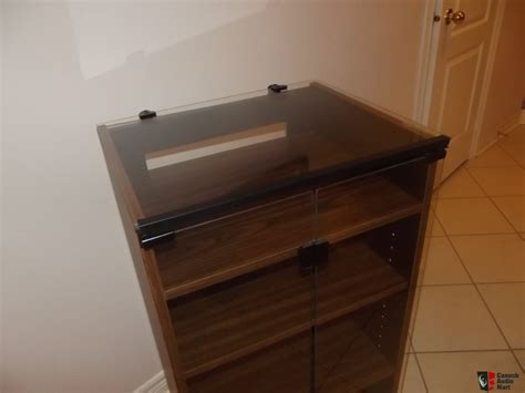 vintage stereo cabinet with turntable audio rack stereo cabinet vintage new glass top turntable