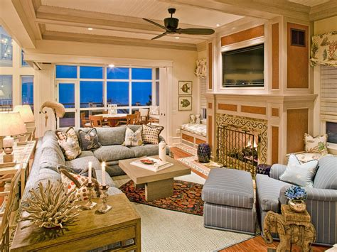 Coastal Living Decorating Ideas Cottage Living Rooms Hgtv