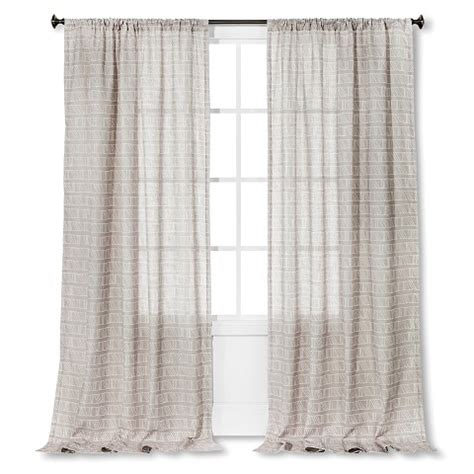 Nate Berkus Curtains by Nate Berkus Window Panel Diagonal Stripe Target