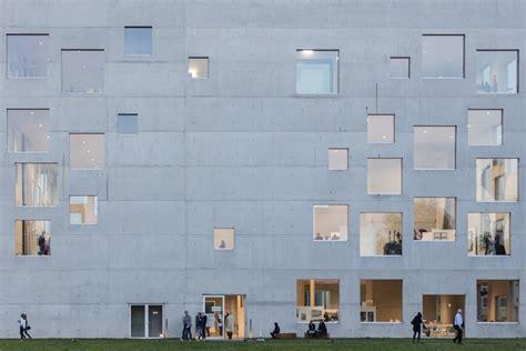 Zollverein School Of Mangement And Design In Essen by Sanaa Zollverein School Of Management And Design Essen