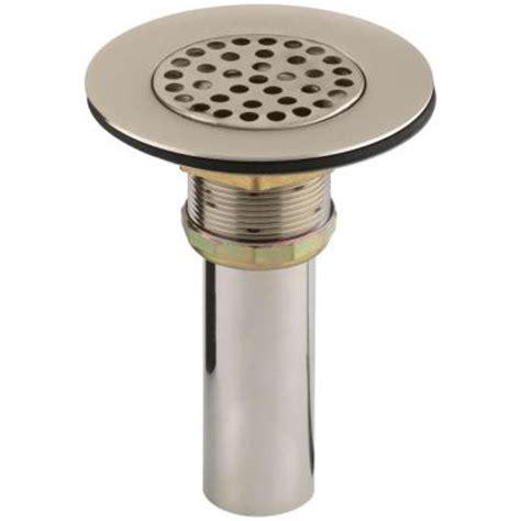 kohler 4 1 2 in brass sink strainer k 8807 bv the home