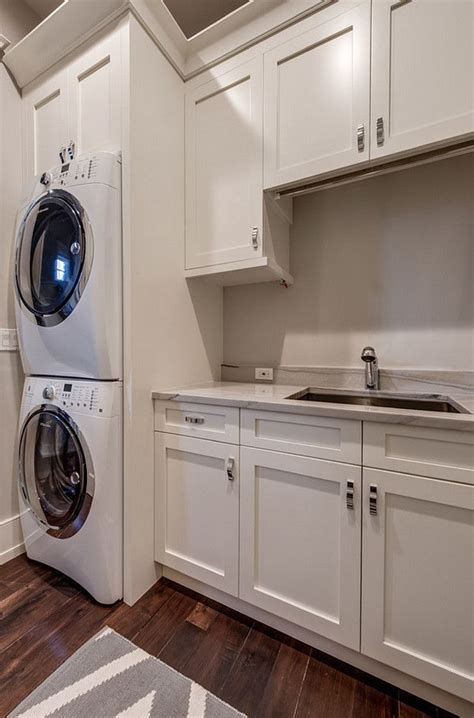 laundry room white cabinet paint color is sherwin williams