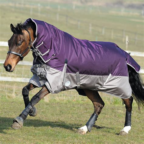 Horse Fly Rugs weatherbeeta original 1680d heavy fixed neck combo turnout