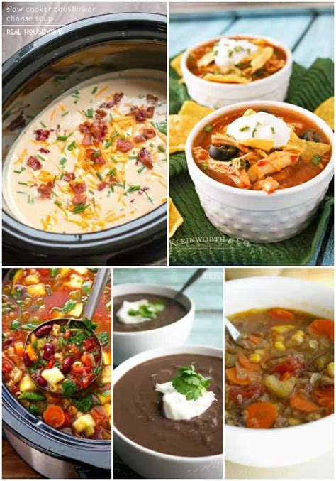 25 Easy Weeknight Crock Pot Dinner Recipes ⋆ Real Housemoms