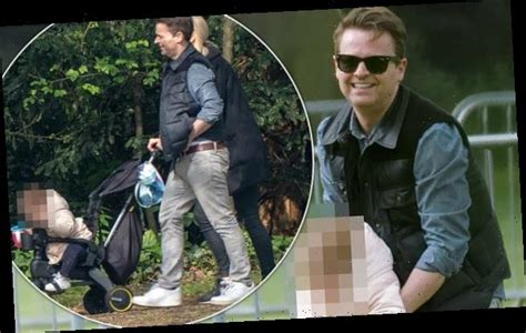 Declan Donnelly enjoys family day out with wife Ali and ...