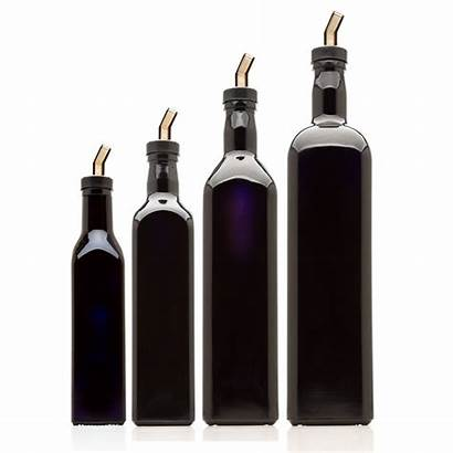 Oil Bottle Jars Spout Infinity Square Variety