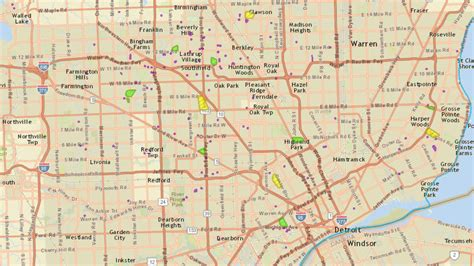 dte energy power outage map thousands  power due