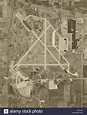 historical aerial photograph Chicago O'Hare Airport ORD ...