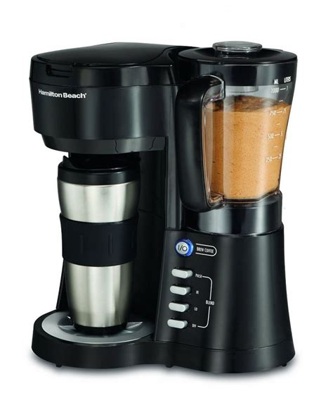 My only issue is that i wish this was bigger so i could have. Modern Best Iced Coffee Maker : Hamilton Beach Java Blend Coffee Brewer Best Iced Coffee Maker ...