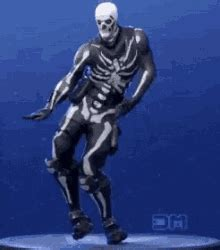 skull trooper fortnite gif skulltrooper fortnite clap