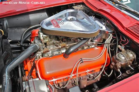 Tri Power Engine by Chevy Big Block V8