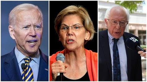 democratic polls  joe biden leads field heavycom