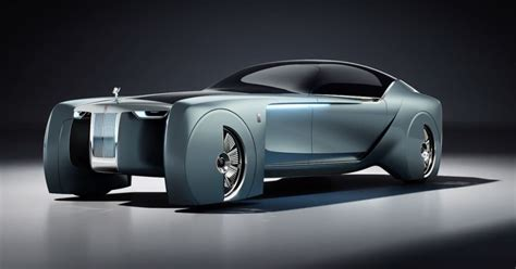 Rolls-royce Ditches The Chauffeur In This Futuristic