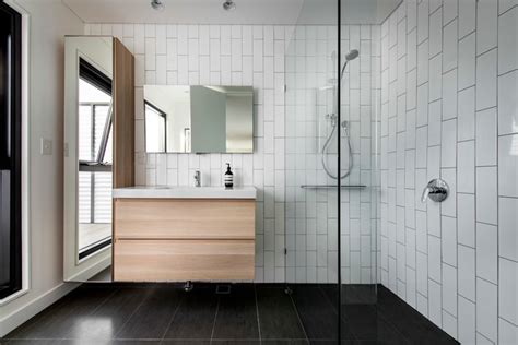 Modern Bathroom Tiles Perth by Warden St Residence Contemporary Bathroom Perth By