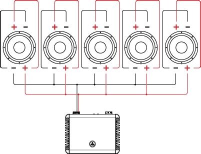 Subwoofer Series Parallel Wiring Diagram by Dual Voice Coil Dvc Wiring Tutorial Jl Audio Help