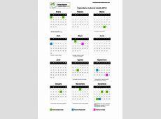 Calendario Laboral Lleida 2018