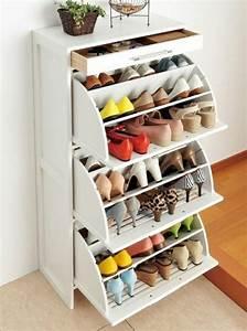Rangement Chaussures Pas Cher : rangement chaussures design pas cher ~ Farleysfitness.com Idées de Décoration