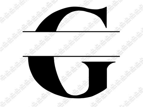 split monogram  handdrawn digital  svg png  sabrina marie