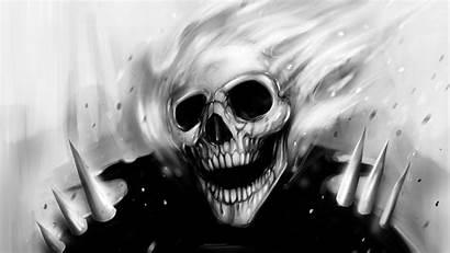 Ghost Skull Rider Wallpapers Horror Demon Skulls