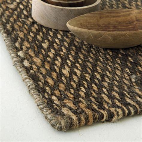 tapis chanvre marron 607 loook 140x200