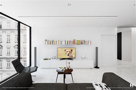 Perfectly Minimalistic Black And White Interiors