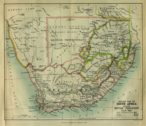 africa historical maps perry castaneda map collection