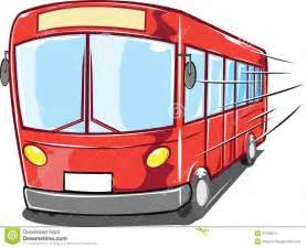 Cartoon Tour Bus