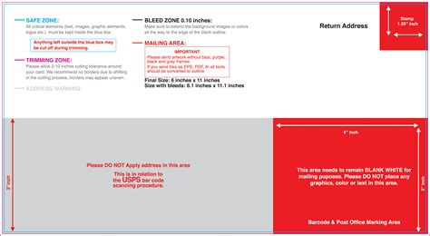 Usps Postcard Template 4 Best Images Of 4x6 Mailing Postcard Template Usps 4x6