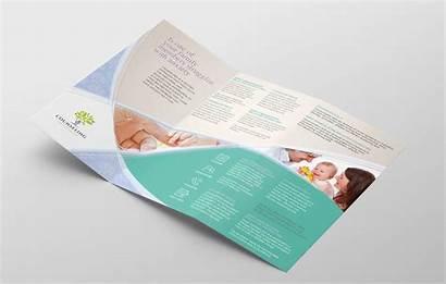 Brochure Tri Fold Template Counselling Service Brandpacks