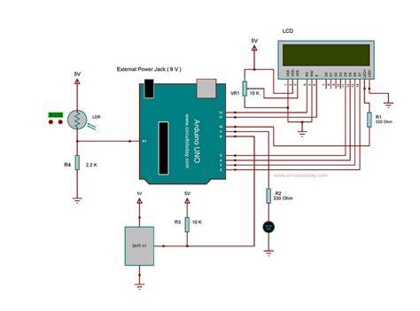 smart lcd brightness control  arduino  ldr