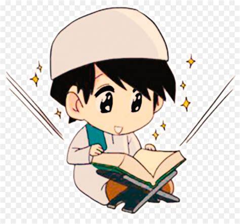 quran cartoon reading animation muslim kids png