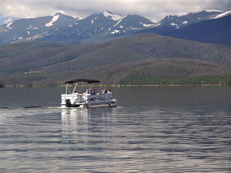 Pontoon Boats Lake Dillon by Dillon Reservoir Denver Water