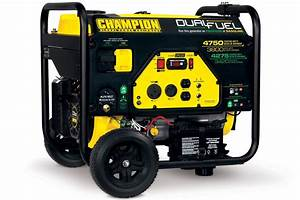 Champion Generators 4750  3800 Watt Dual Fuel Generator