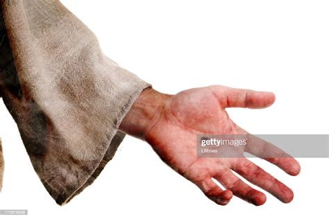 hand  jesus stock photo getty images