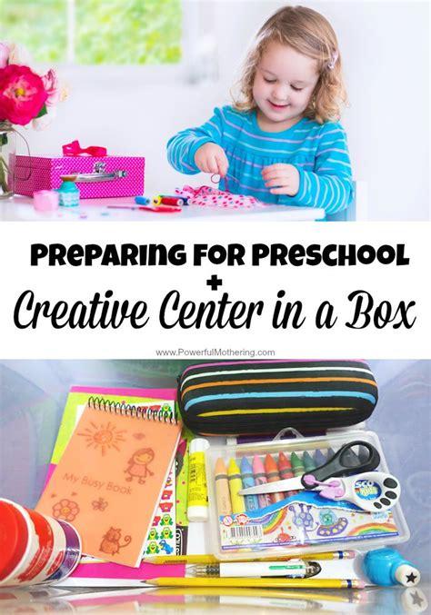 preparing for preschool creative center in a box 866   Preparing for Preschool Creative Center in a Box