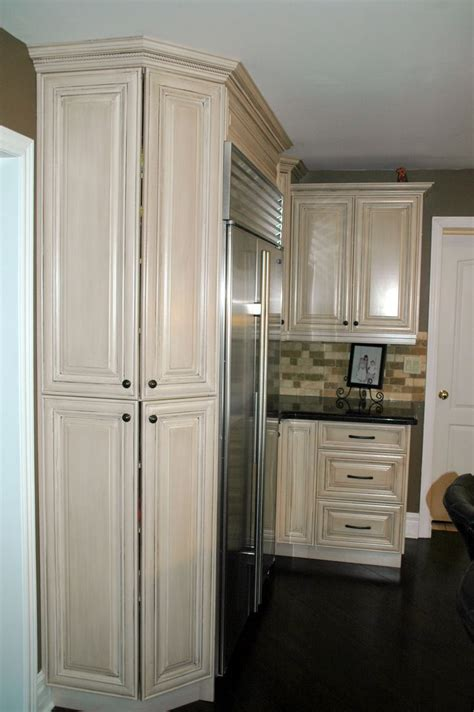 angled pantry cabinets   storage   sharp