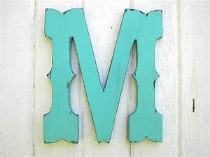 rustic wooden letter m western cowboy style 12 inch wedding With wooden letter m for wall