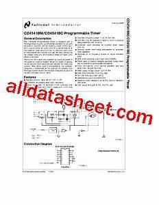 cd4541 datasheetpdf national semiconductor ti With 4541 datasheet