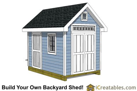 8x12 shed plans garden shed plans backyard shed designs building a shed