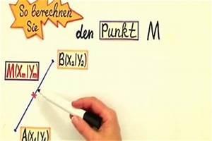 Kreismittelpunkt Berechnen : video mittelpunkt einer strecke berechnen so klappt es ~ Themetempest.com Abrechnung
