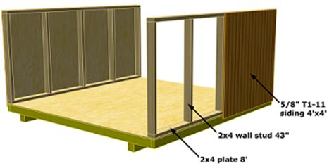 6x6 Storage Shed Plans by Hollans Models Storage Shed Plans Gambrel