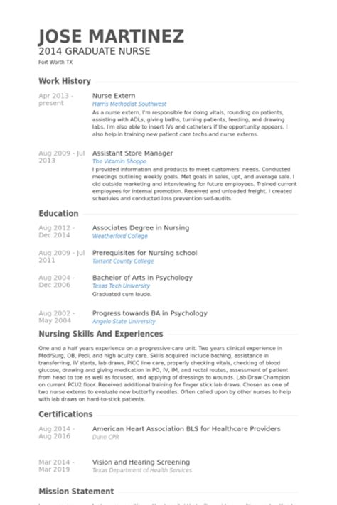 Assistant Student Resume For Externship by Extern Resume Sles Visualcv Resume Sles Database