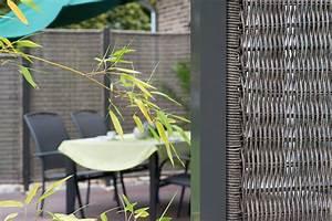 Sichtschutz Für Garten Und Terrasse : sichtschutz f r garten terrasse und balkon sichtschutz ~ Michelbontemps.com Haus und Dekorationen