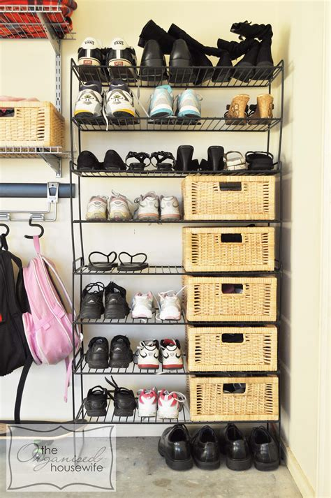 Shoe Storage Ideas  The Organised Housewife