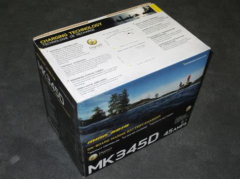 Marine Battery Charger Overcharging by New Minn Kota Mk345d 3 Bank On Board Boat Battery Charger