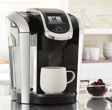 Furthermore, dual coffee makers give you the added benefit of brewing a full pot rather than just a single serving. Keurig K475 Programmable K- Cup Pod Coffee Maker with 12 ...