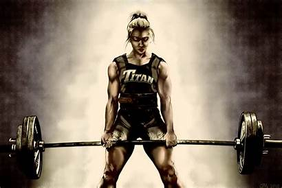 Deadlift Powerlifting Lady Wallpapers Redo Lifting Safety