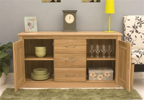 Dining Room Sideboard by Conran Solid Oak Contemporary Furniture Large Living